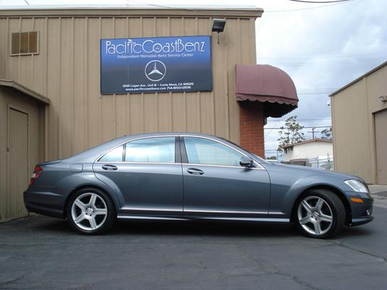 Used 2008 Mercedes-Benz S550